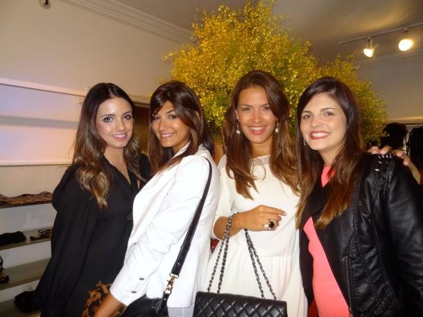 Manoella Taques, Laura Kubrulsy, Angélica Fenley, Evelyn Bittencourt