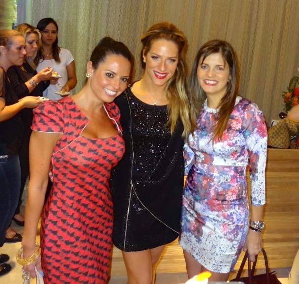 Mari Frazão nossa colaboradora com a linda Giovanna Ewbank.