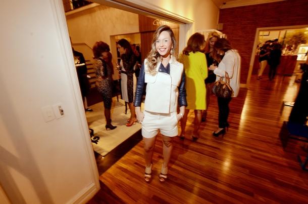 Larissa Gomes com look Lacoste Premium