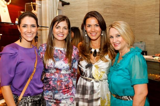 Bruna Kowalski, Evelyn Bittencourt, Angélica Fenley e Dioneia Mendes