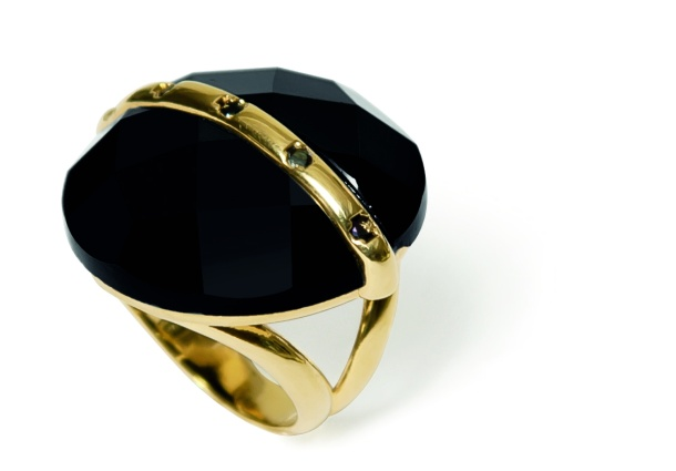 anel urano oval