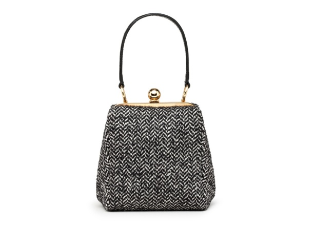 Dolce & Gabbana Tweed and leather Agata bag, €1100.