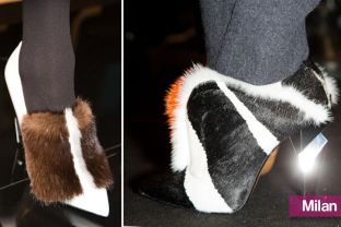 Fendi's Furry Pumps and Ankle Booties