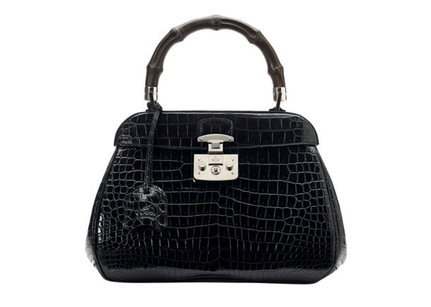 Gucci Crocodile leather Lady Lock bag, price on application.