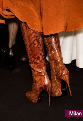 Gucci's Snakeskin Boots