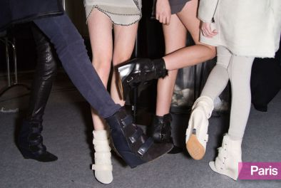 Isabel Marant's Multi-Strap Wedges