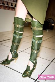 Prabal Gurung's Military-Inspired Buckle Boots
