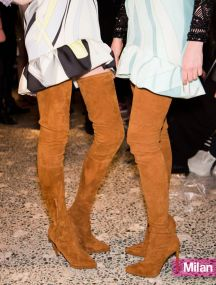 Pucci's Thigh-High Boots