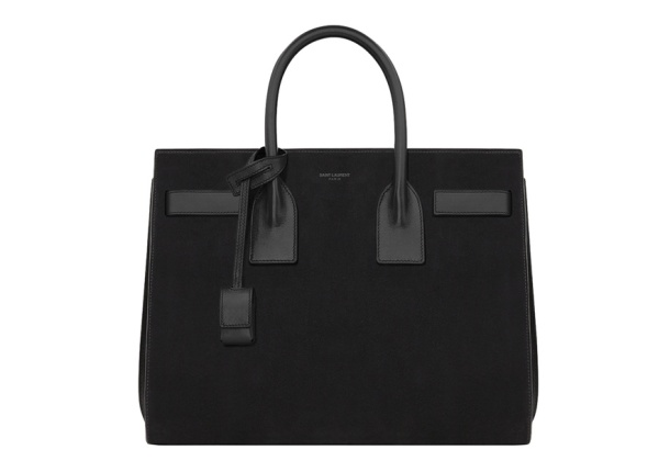 Saint Laurent by Hedi Slimane Leather and suede day bag, €1950.