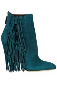 Brian Atwood Pipi Fringed Suede Ankle Boots, $598.50; theoutnet.com