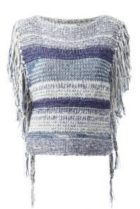 Isabel Marant Fringed Top, $410.83; farfetch.com