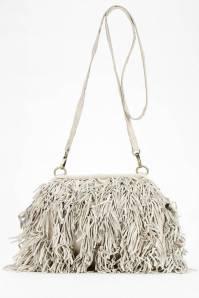 Nala Russo Leather Fringe Crossbody Bag, $98; urbanoutfitters.com