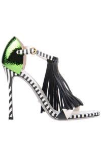 Sergio Rossi Sandals, $772; yoox.com